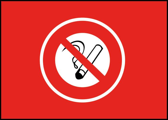 Warnschild nicht Rauchen